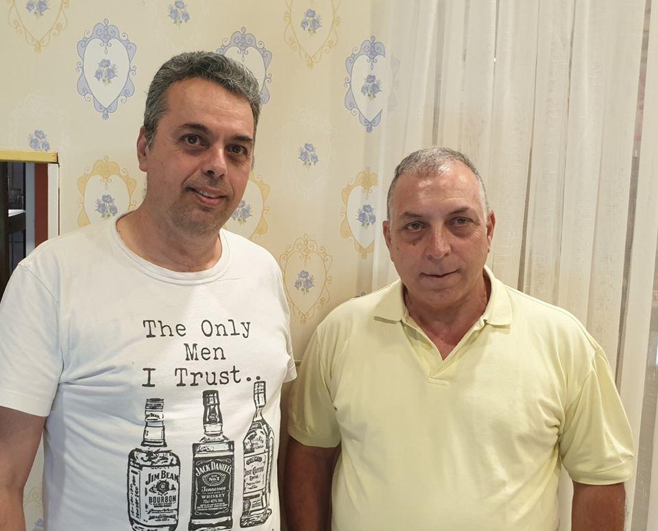 Ο Νίκος Αντωναράκης στον Πήγασο Αγίου Διονυσίου!