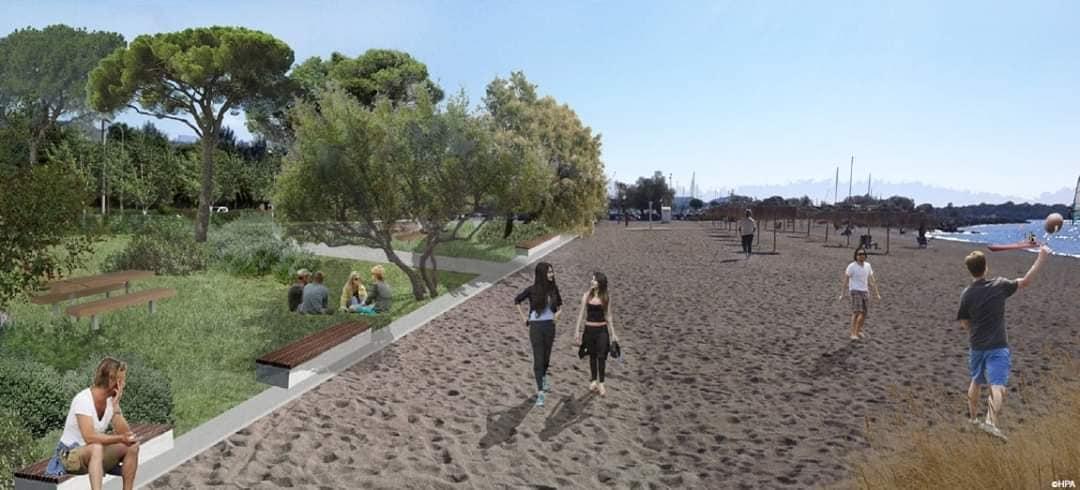 Γλυφάδα:Το εμβληματικό έργο ανάπλασης της παραλίας ξεκινά!
