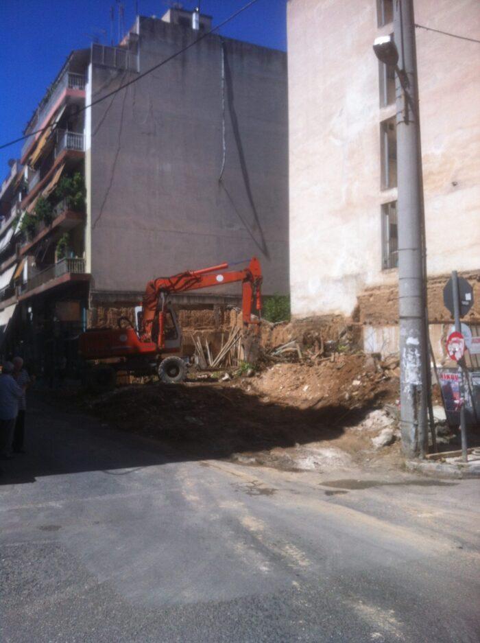 Επιταχύνει τις κατεδαφίσεις εγκαταλελειμμένων κτιρίων ο Δήμος Αθηναίων