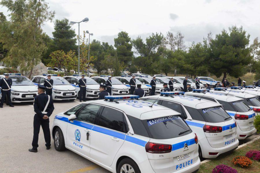 35 νέα οχήματα προστέθηκαν στο στόλο της Ελληνικής Αστυνομίας