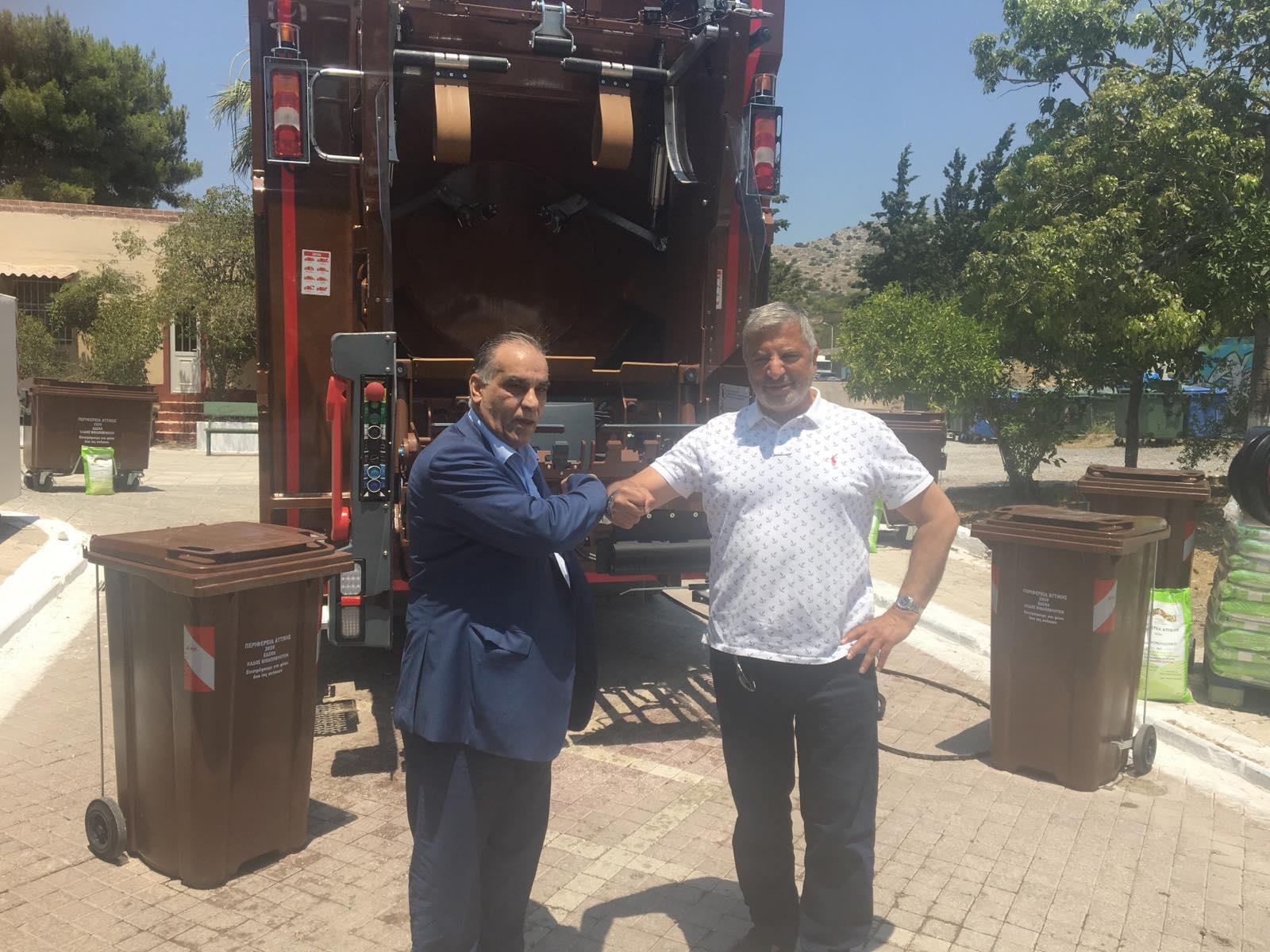 Νέο απορριμματοφόρο και εξοπλισμός ανακύκλωσης στον Δήμο Περάματος!