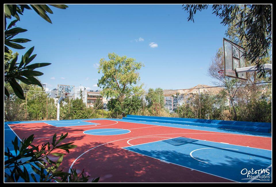 Νίκαια: Τα ανοικτά γήπεδα μπάσκετ αναμορφώνονται!