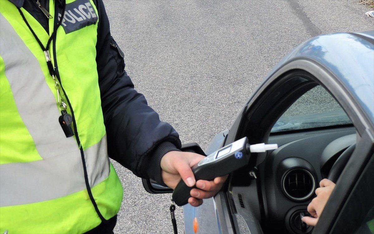 Έλεγχοι σε όλη την επικράτεια για την οδήγηση υπό την επήρεια αλκοόλ
