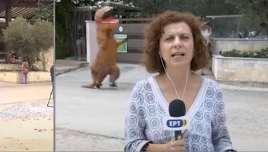 Δύο κρούσματα κορονοϊού και ένας δεινόσαυρος σε κατασκήνωση ! (video)