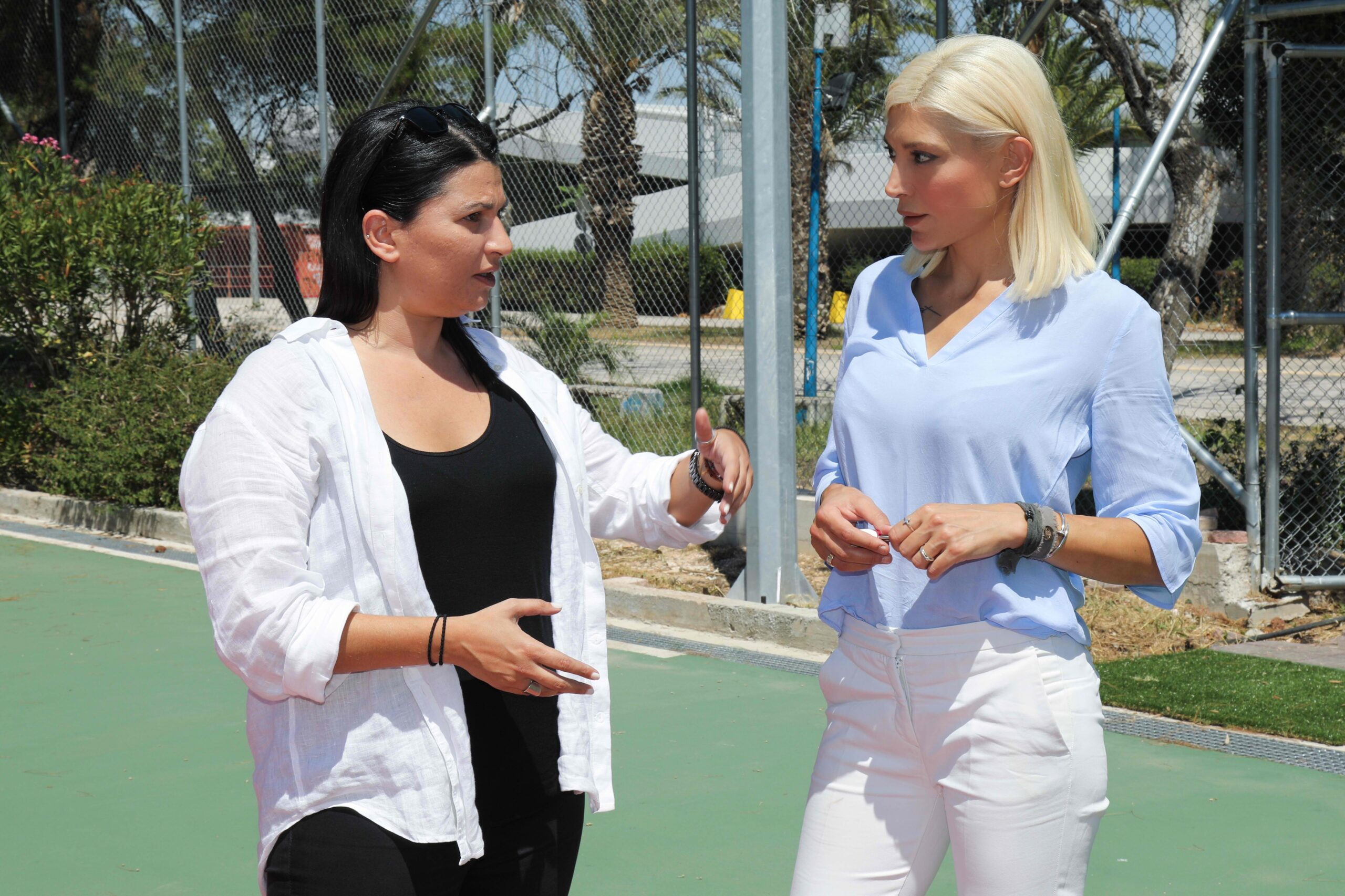 Παραδόθηκαν στη Διοίκηση του ΣΕΦ τα νέα γήπεδα τένις.
