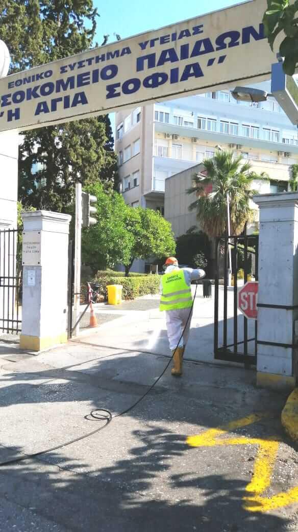 Δήμος Αθηναίων: Καθημερινές, μαζικές απολυμάνσεις στο κέντρο και τις γειτονιές