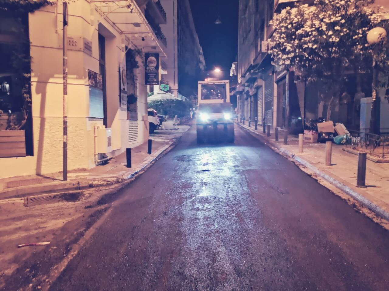 Δήμος Αθηναίων: 65 χιλιάδες τ.μ. ασφαλτοστρώσεις δρόμων τον Αύγουστο