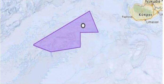 Η περιοχή των ερευνών του Oruc Reis και της ελληνοτουρκικής αναμέτρησης