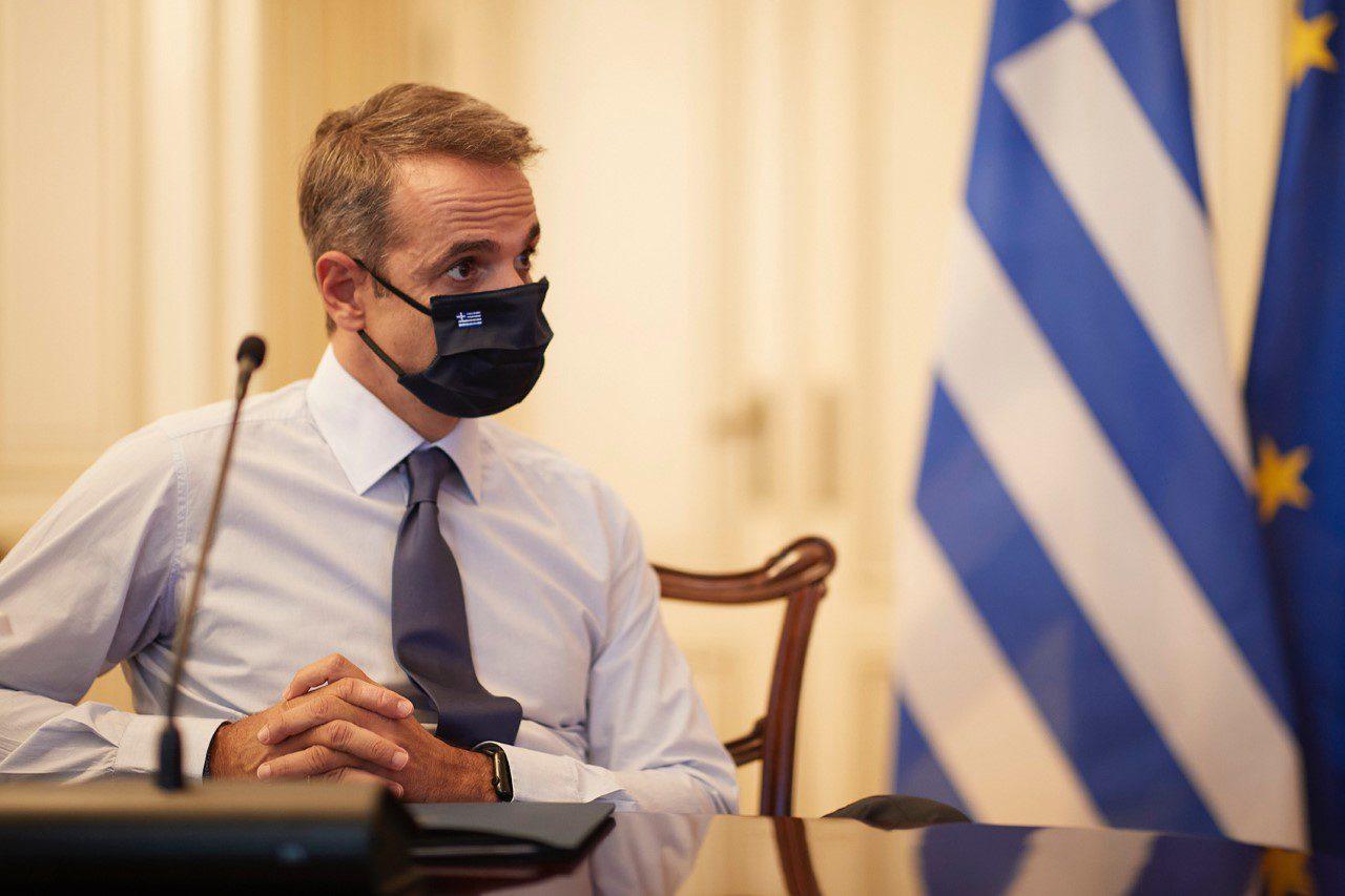 Μητσοτάκης για κορωνοϊό: «Η μάσκα να γίνει μόνιμη συνοδός μας»