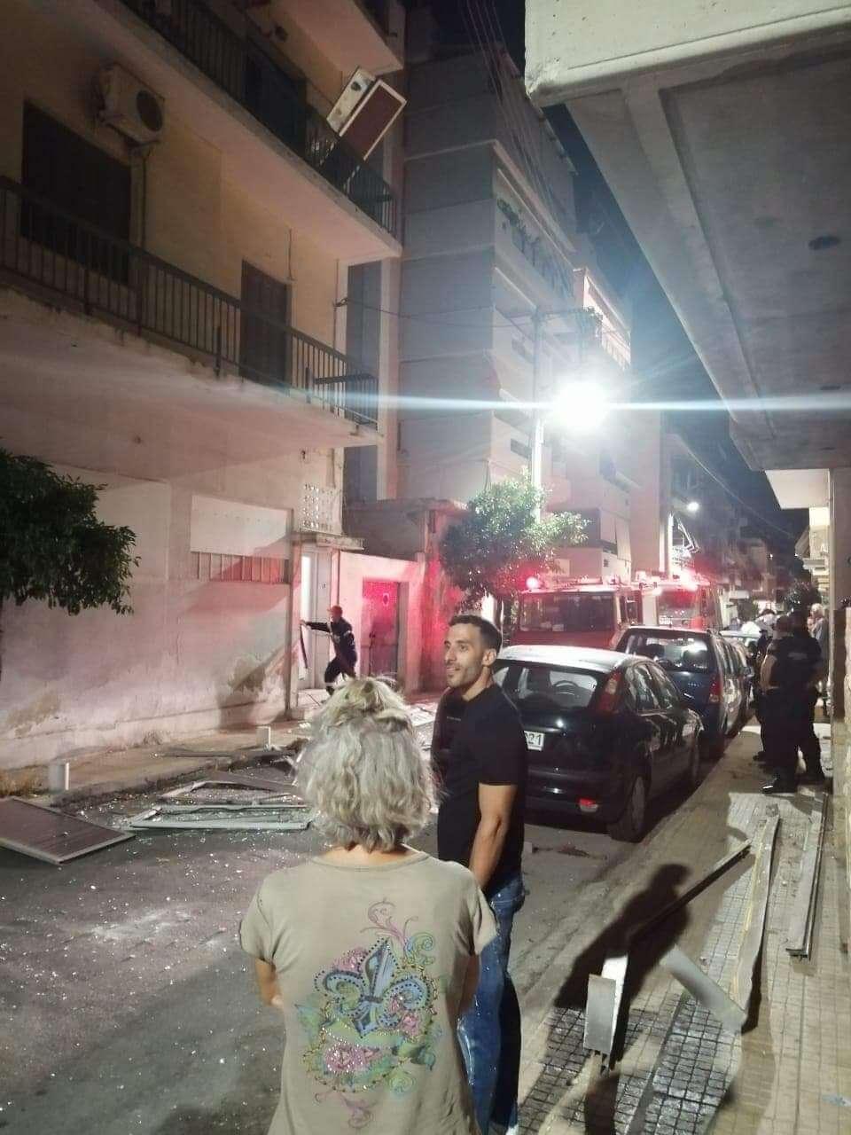 Έκρηξη σε διαμέρισμα της Δραπετσώνας ! (Photo)
