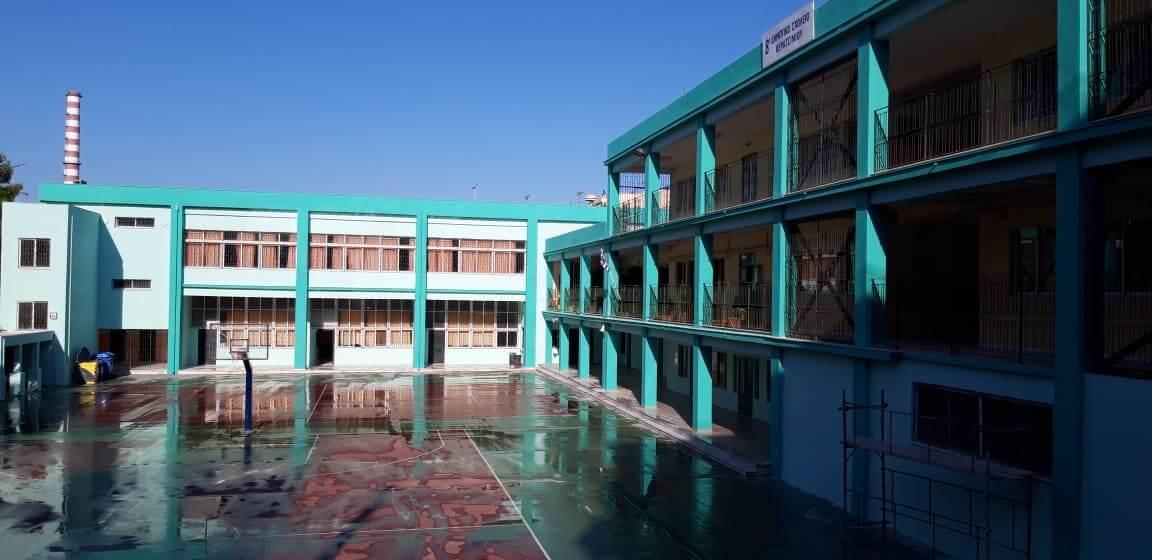 Ολοκληρώθηκαν οι εργασίες αποκατάστασης και βαψίματος στο 8ο Δημοτικό Σχολείο Κερατσινίου