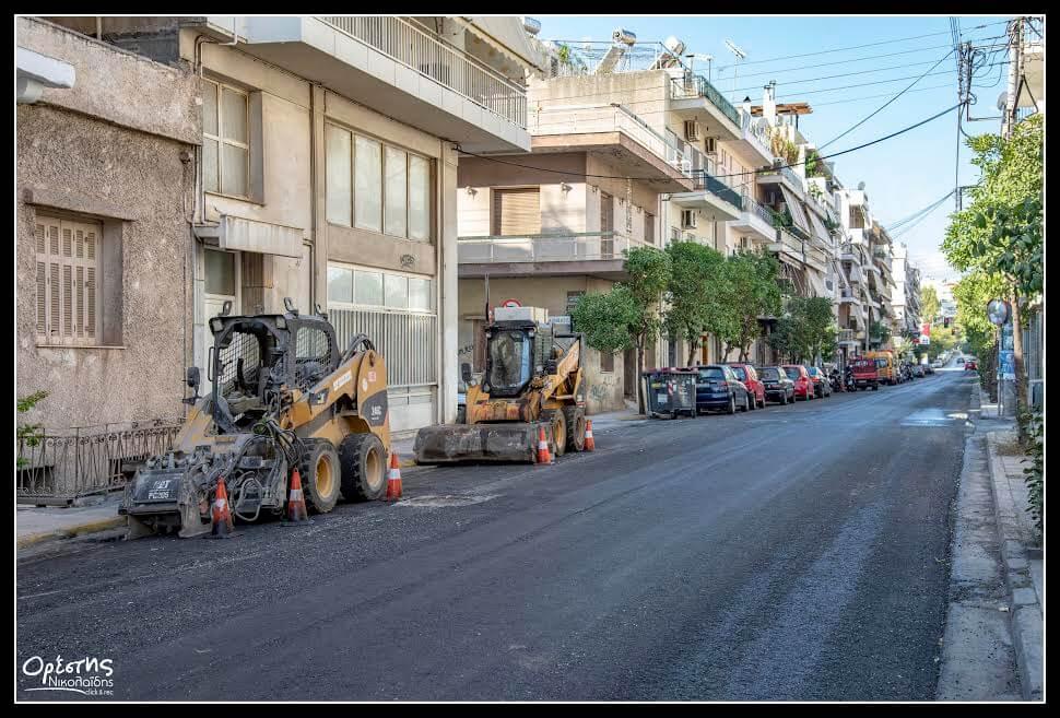 Ασφαλτοστρώσεις 2,5 εκ. ευρώ στον Δήμο Νίκαιας - Αγ. Ι. Ρέντη