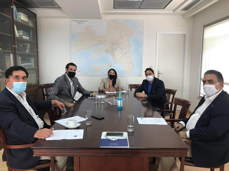 Συνάντηση Σ. Αντωνάκου με τον Εμπορικό Σύλλογο Πειραιά