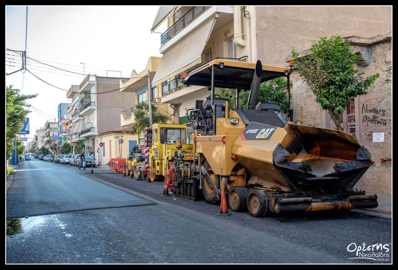 €2.500.000 για ασφαλτοστρώσεις σε Νίκαια και Ρέντη