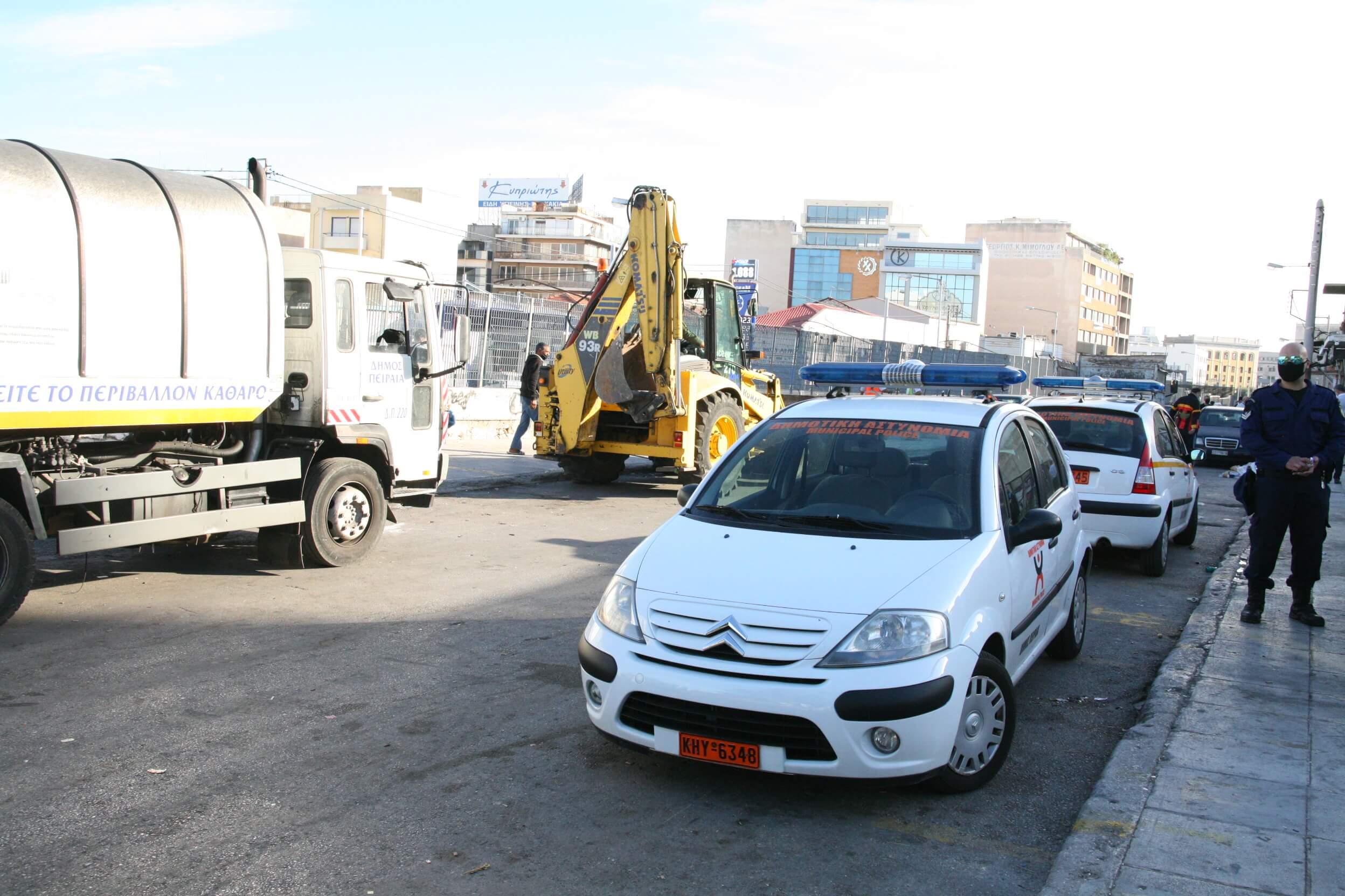 Δήμος Πειραιά : Συντονισμένη επιχείρηση στο παζάρι της Κυριακής