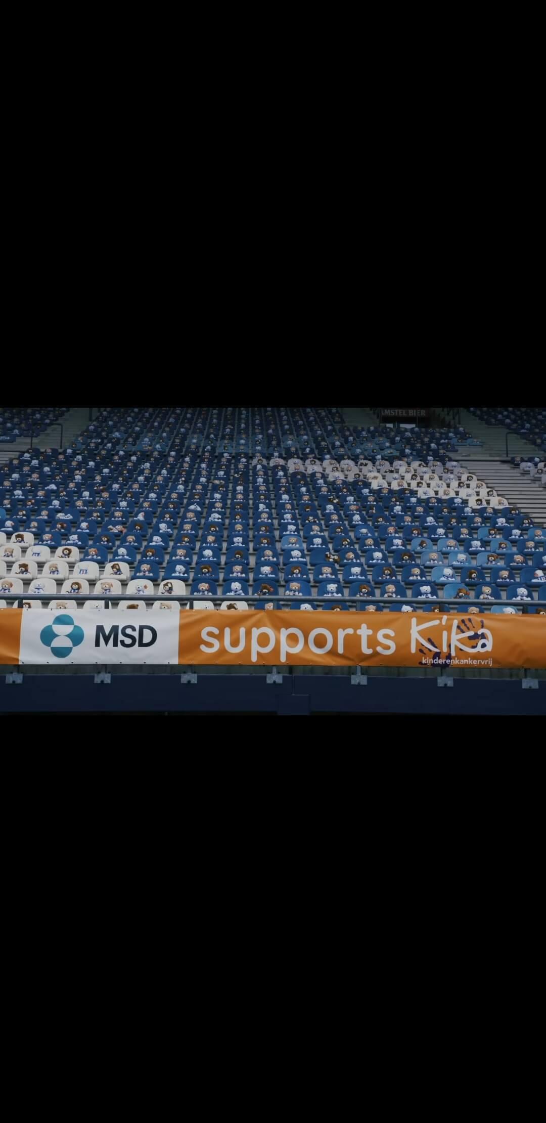Ολλανδία: Η Χέρενφεϊν στο πλευρό των παιδιών με καρκίνο - 15.000 λούτρινα αρκουδάκια γέμισαν τις κερκίδες