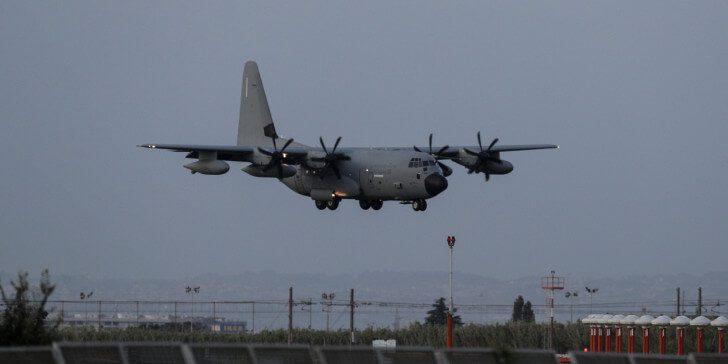 C-130 στη Σάμο ώστε να μεταφέρει τραυματισμένο παιδί