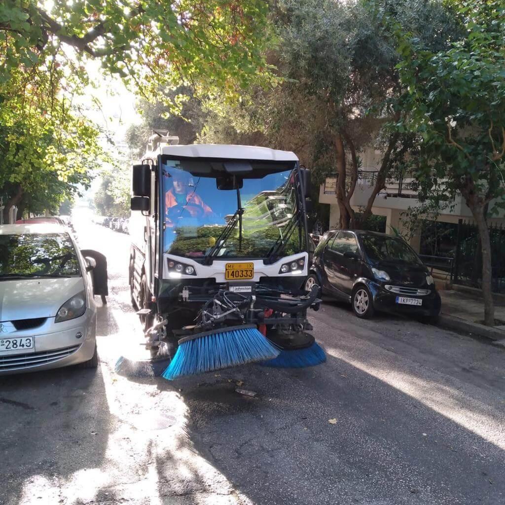 Δήμος Αθηναίων: Κυριακάτικη δράση καθαριότητας – απολύμανσης στην περιοχή Ελληνορώσων