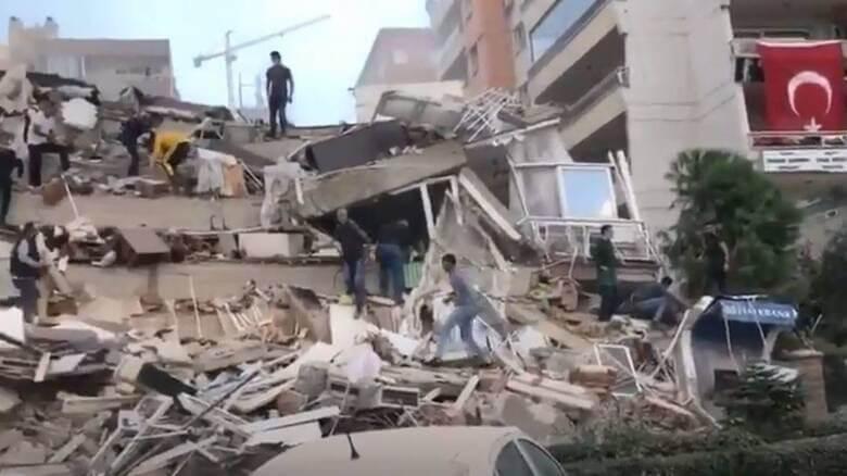 Τουρκία: 12 νεκροί, 438 τραυματίες,δεκάδες εγκλωβισμένοι στη Σμύρνη