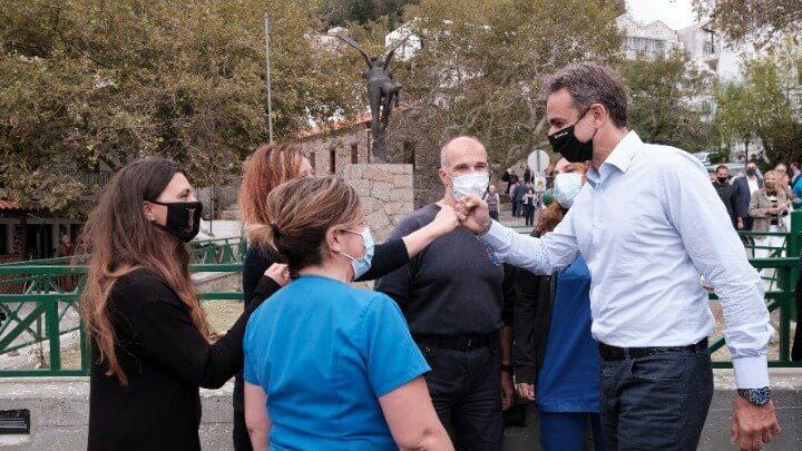 Κυριάκος Μητσοτάκης :  Η κυβέρνηση μας είναι κυβέρνηση των έργων, όχι των λόγων