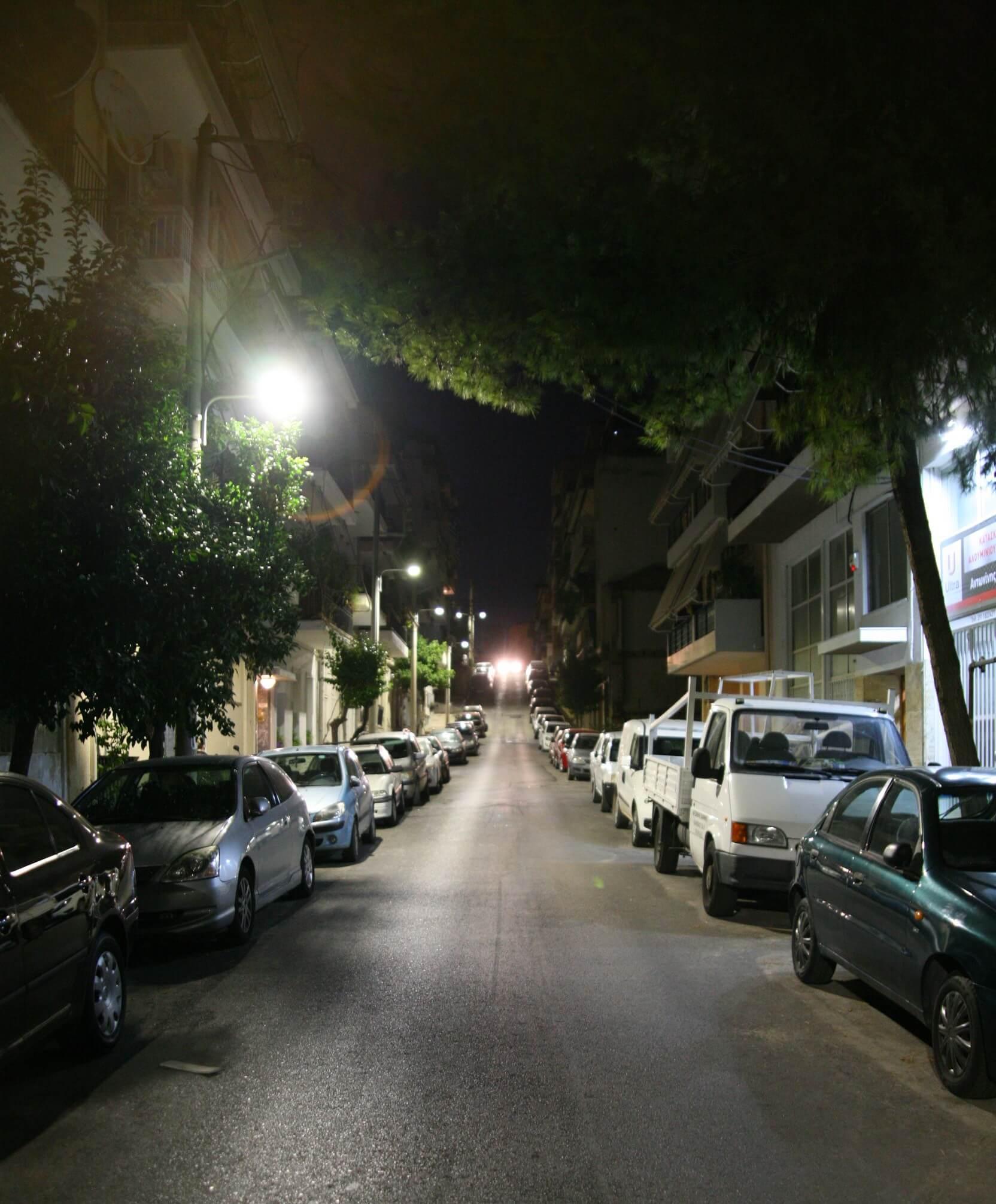 Πειραιάς : Αυτοψία Γιάννη Μώραλη στο νέο σύγχρονο Δημοτικό φωτισμό στη Β Δημοτική Κοινότητα