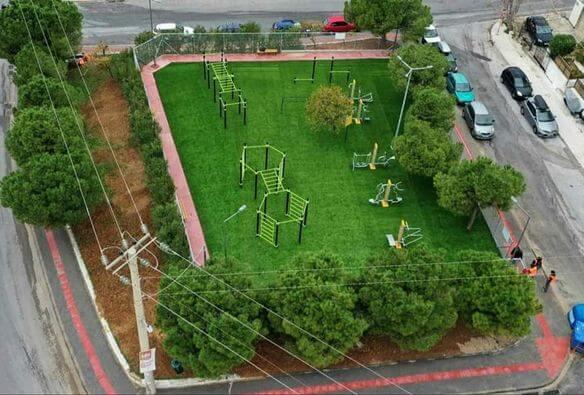 Γλυφάδα : Νέος χώρος άθλησης για μικρούς και μεγάλους στην Τερψιθέα
