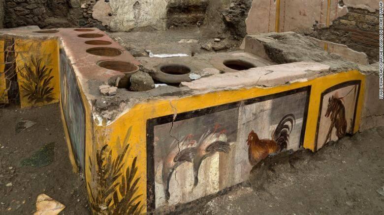 Πομπηία … κι όμως οι Ρωμαίοι είχαν «φαστ φουντ» πριν 2.000 χρόνια!