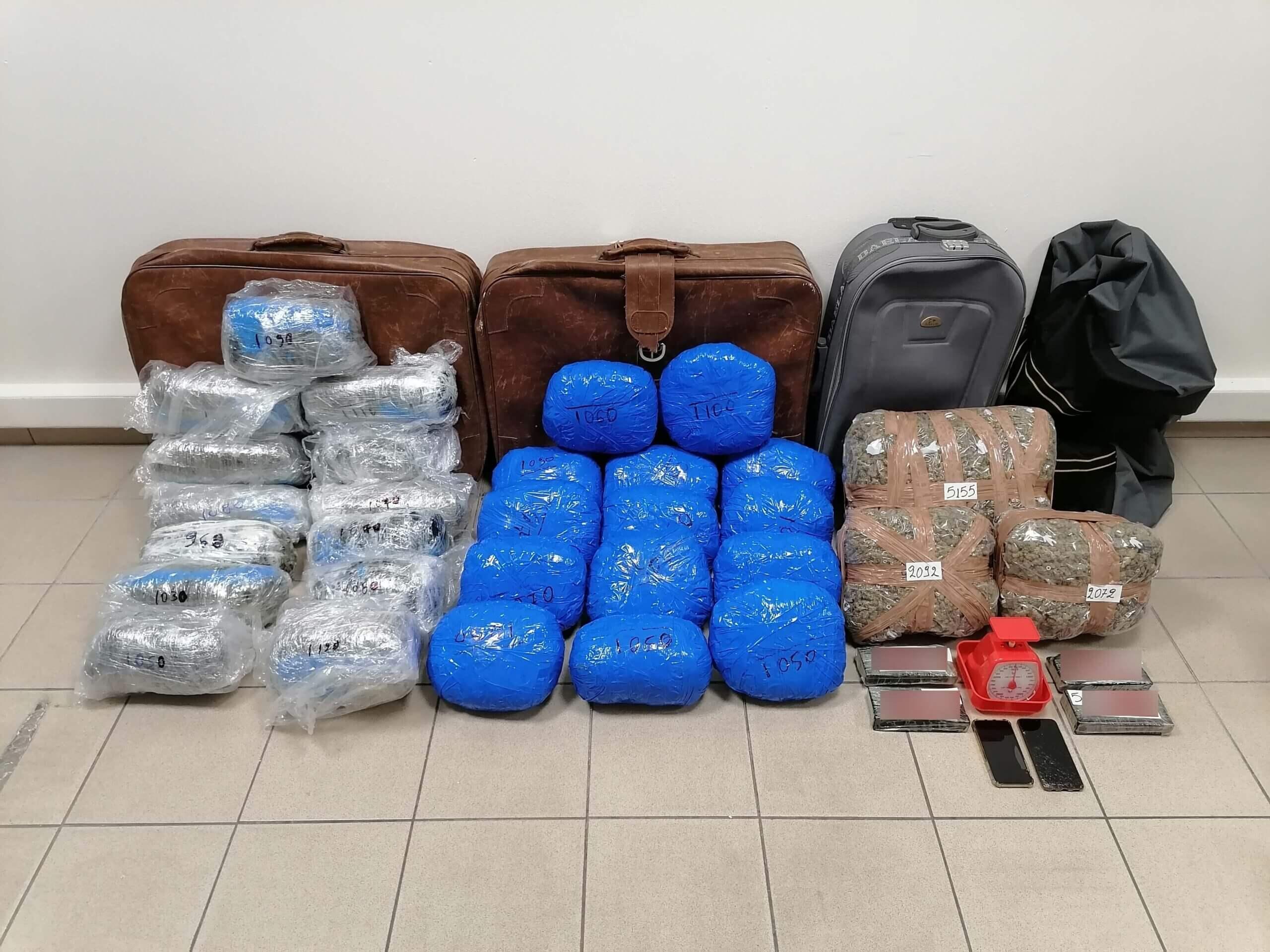 Θεσσαλονίκη : Εντόπισαν και συνέλαβαν μέλη Διεθνούς κυκλώματος Ναρκωτικών