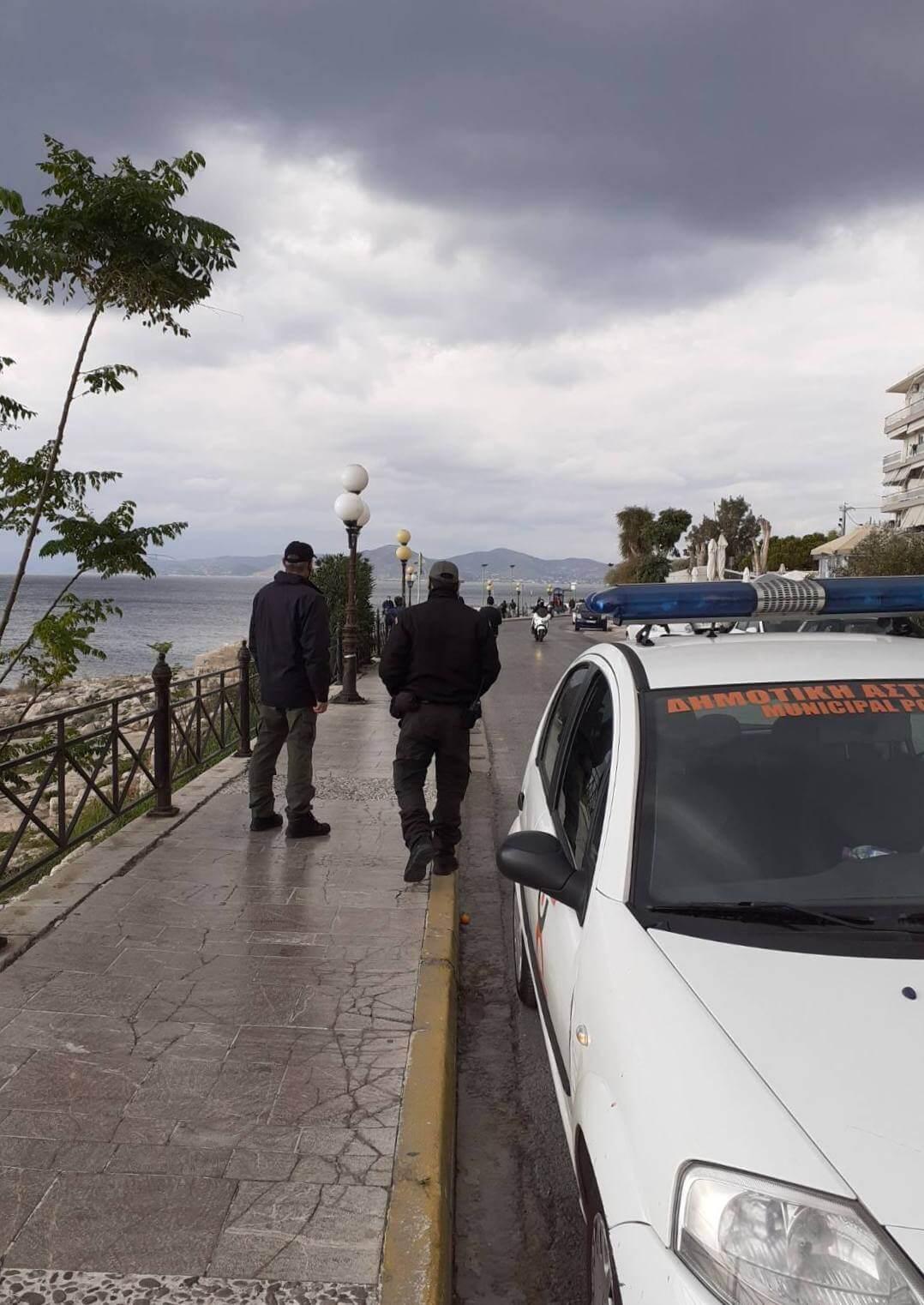 Πειραιάς : Συνεχίζονται με αμείωτους ρυθμούς οι έλεγχοι στην πόλη από τη Δημοτική Αστυνομία
