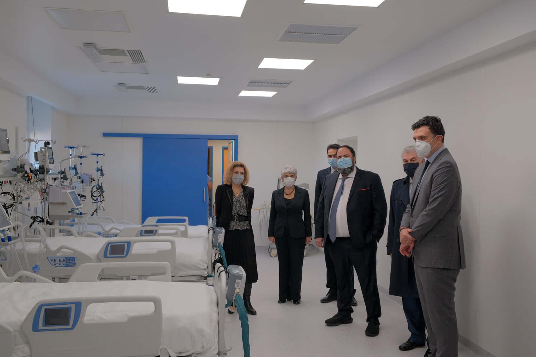 Βαγγέλης Μαρινάκης : «Ευχαριστώ όλους τους γιατρούς του Ε.Σ.Υ. και το σύστημα Υγείας»
