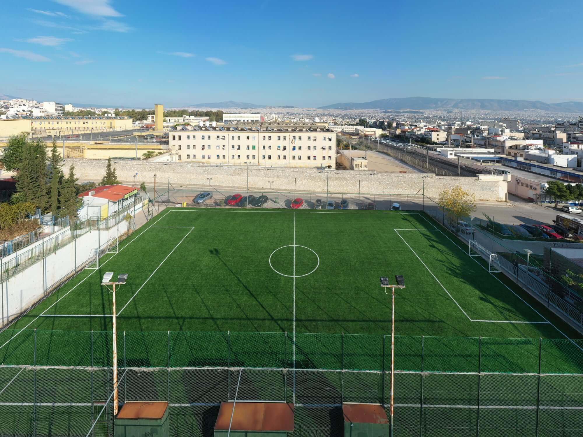 Κορυδαλλός : Ολοκληρώθηκε η μετατροπή του ποδοσφαιρικού γηπέδου στην περιοχή του ασύλου από 5x5 σε 7x7