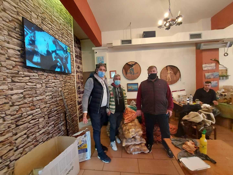 Κερατσίνι : Στηρίζουν το έργο του «Κρητικού» Εμπορικός Σύλλογος και Β Λαϊκή Πειραιά