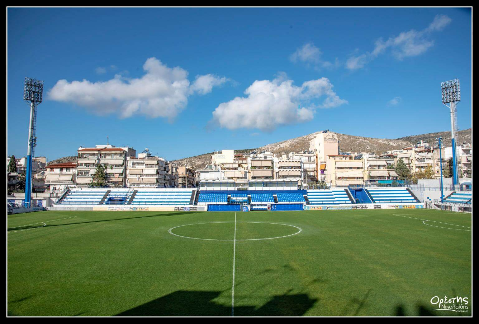 Ο Γιώργος Ιωακειμίδης για το γήπεδο του Ιωνικού : Περιμένουμε με ανυπομονησία το πρώτο παιχνίδι