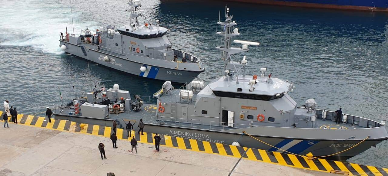Δύο υπερσύγχρονα νέα περιπολικά σκάφη στη δύναμη του Λιμενικού Σώματος