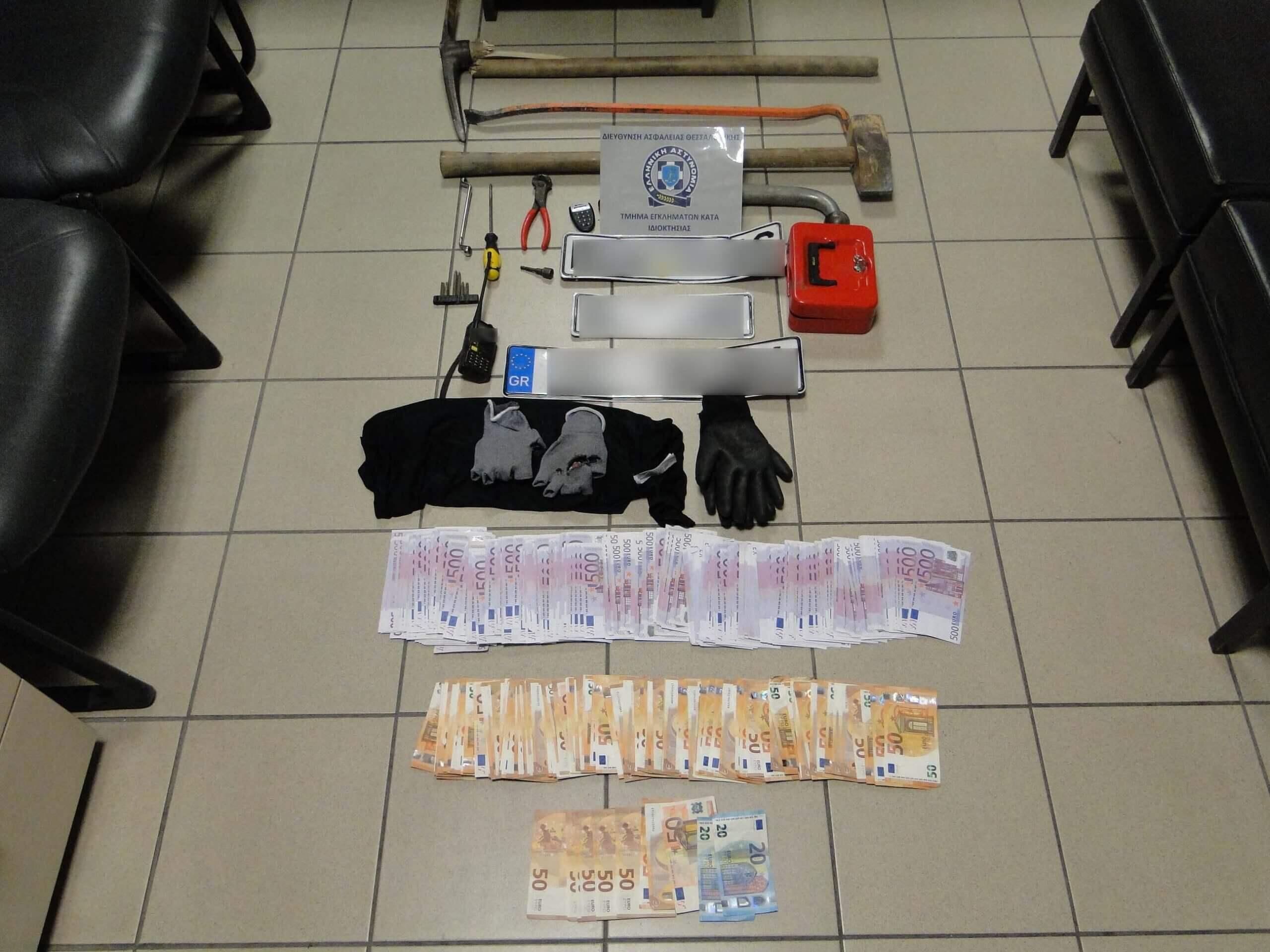 Συνελήφθησαν άμεσα 2 μέλη συμμορίας που ενέχονται σε περίπτωση ληστείας και διακεκριμένων κλοπών