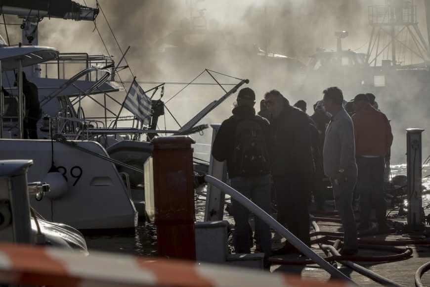 Έκρηξη σε σκάφος στη μαρίνα Αλίμου