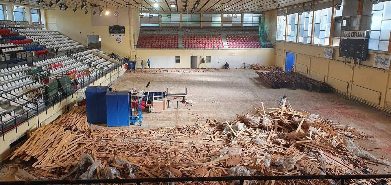 Το Δημοτικό Αθλητικό Κέντρο Γλυφάδας γίνεται ολοκαίνουργιο !