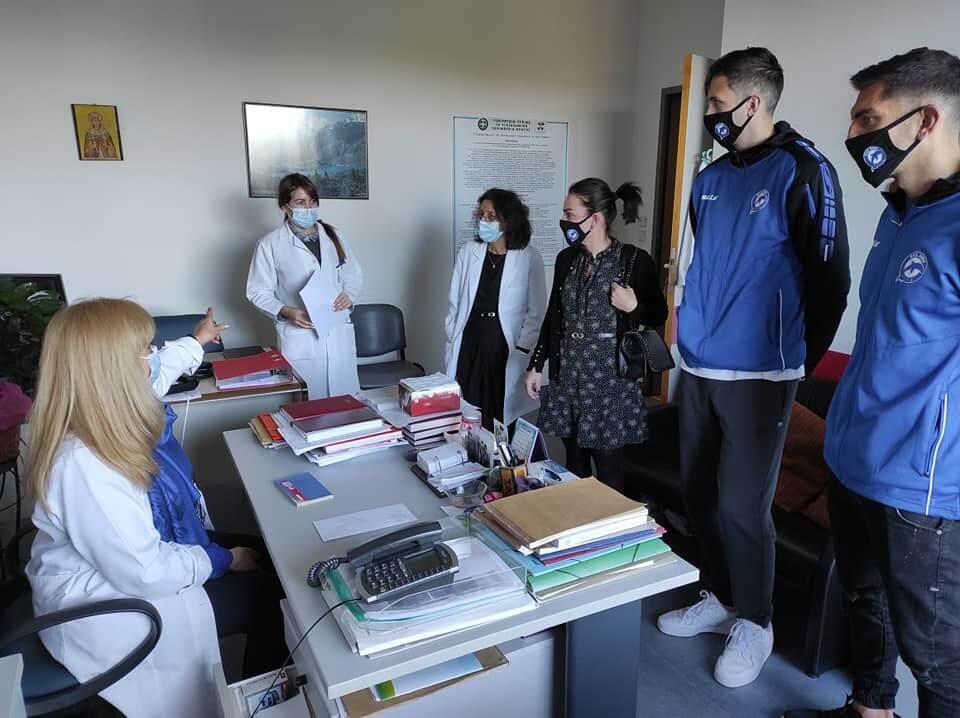 ΠΑΕ Χανίων : Δωρεά στην Κοινωνική Υπηρεσία του Νοσοκομείου Χανίων