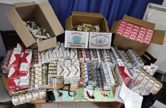 Πειραιάς : Σύλληψη αλλοδαπού για λαθραία καπνικά προϊόντα