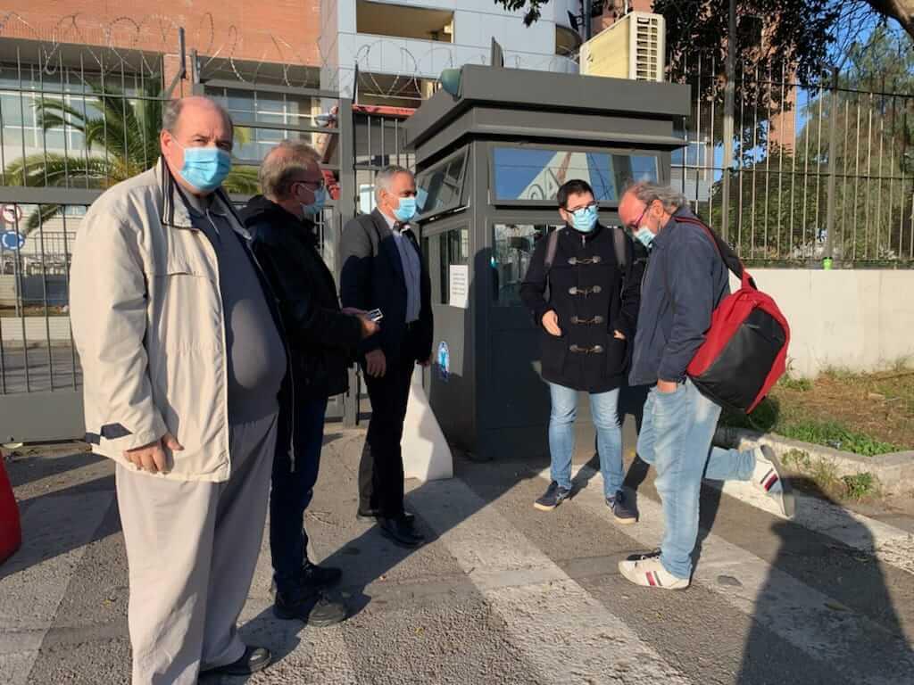 Επίσκεψη αντιπροσωπείας του ΣΥΡΙΖΑ – Προοδευτική Συμμαχία στο τμήμα Αλλοδαπών