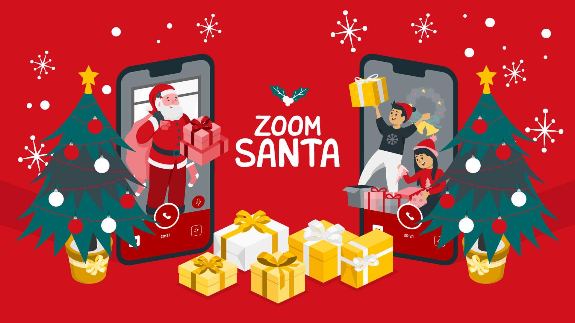 Δήμος Πειραιά : Zoom Santa - Ο Άγιος Βασίλης έρχεται φέτος ψηφιακά!