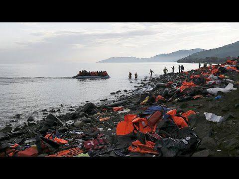 Εντοπισμός αλλοδαπών και ανάσυρση σορού γυναίκας στον κόλπο Γέρας ν. Λέσβου