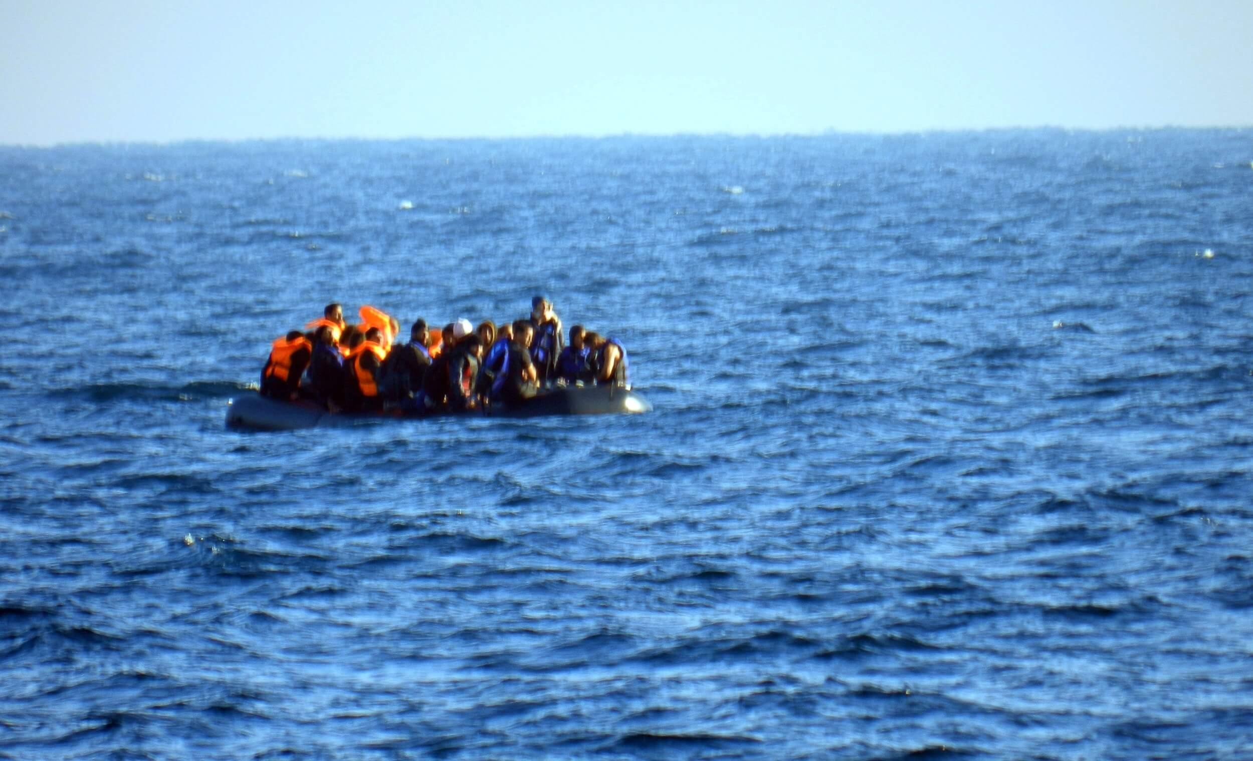 Λέσβος : Επιχείρηση έρευνας και διάσωσης αλλοδαπών