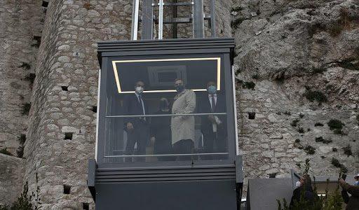 Παγκόσμια Ημέρα για τα ΑμεΑ- Αποδόθηκαν ο ανελκυστήρας πλαγιάς και οι νέες διαδρομές στην Ακρόπολη