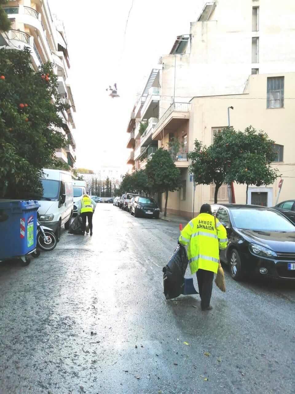 Με 37 επιχειρήσεις καθαριότητας αλλάζουν οι γειτονιές της Αθήνας