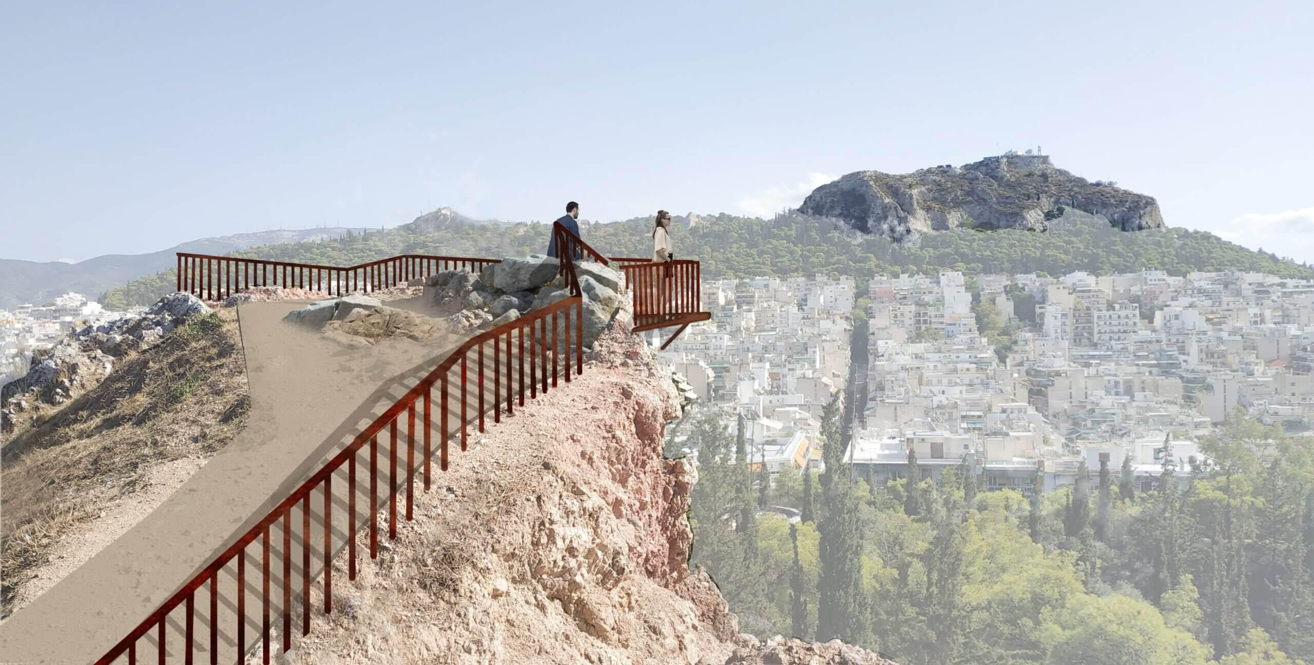 Ο λόφος του Στρέφη ξαναγίνεται τόπος περιπάτου και αναψυχής (ΦΩΤΟ)
