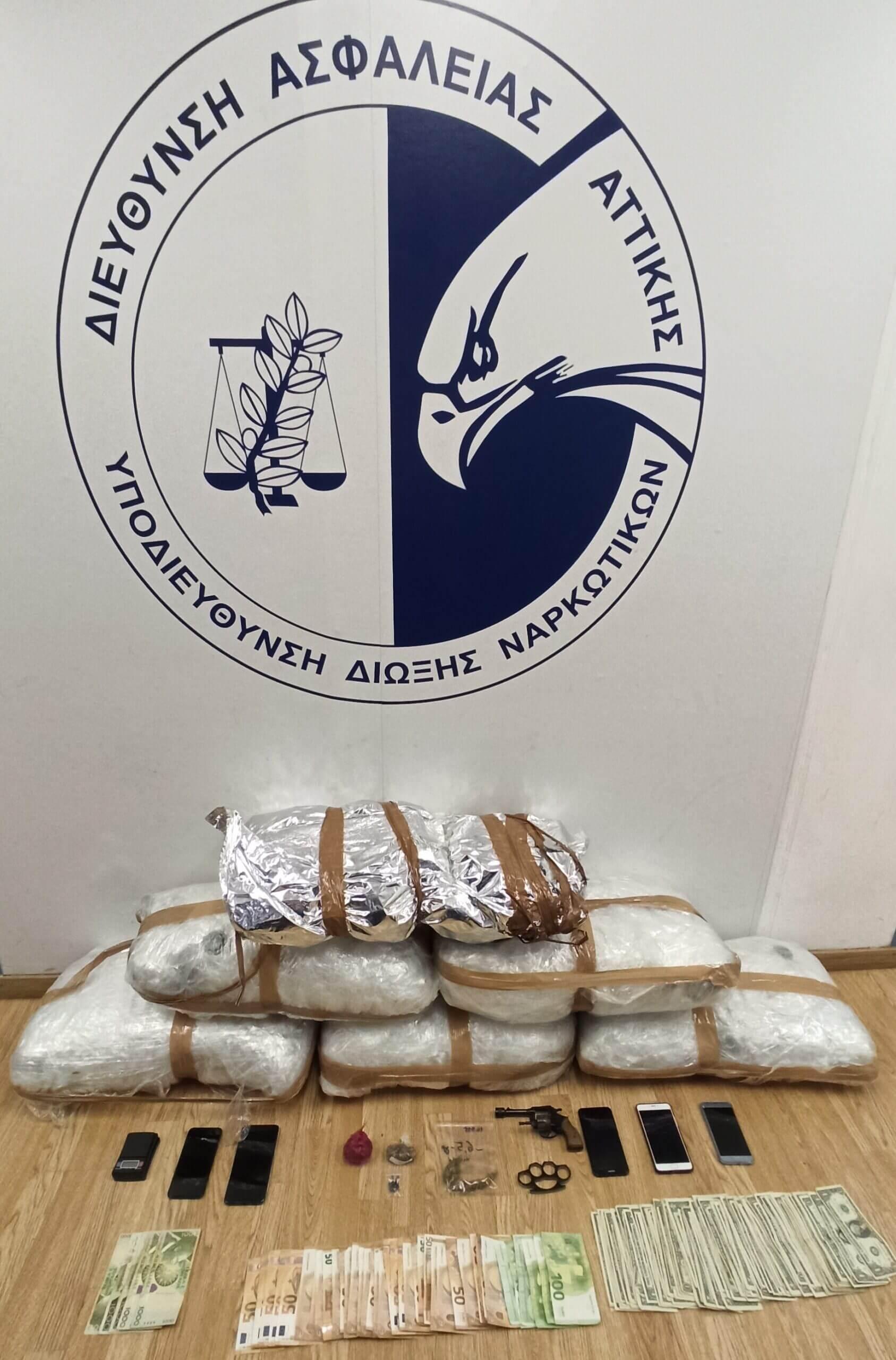Έκτακτο : 4 συλλήψεις σε Κερατσίνι και Πειραιά για ναρκωτικά και όπλα