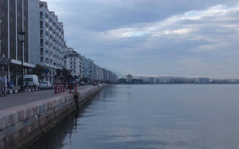 Θαλάσσια ρύπανση και συλλήψεις στη Θεσσαλονίκη