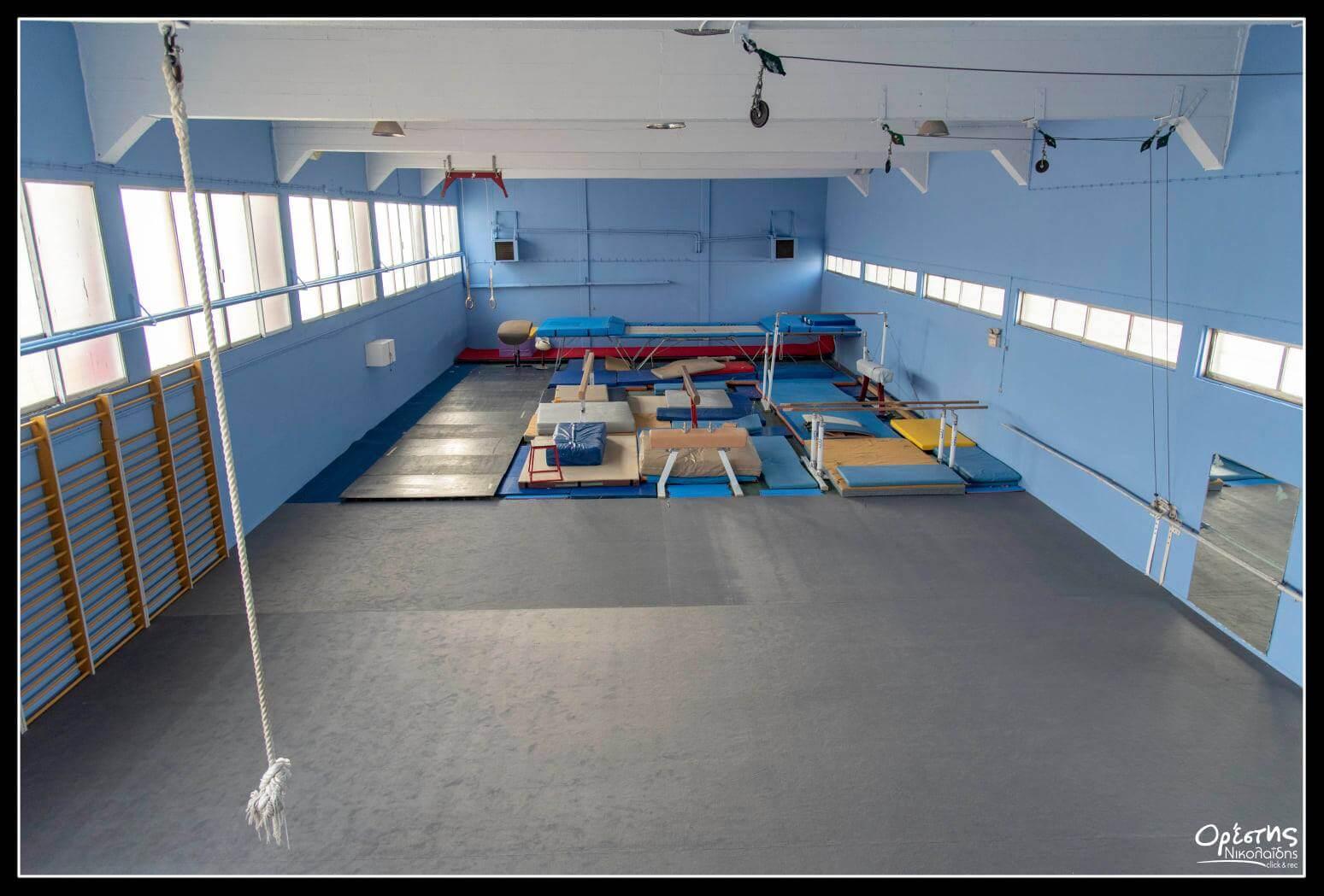 Νίκαια - Ρέντη : Έτοιμο το γυμναστήριο του Πλάτωνα