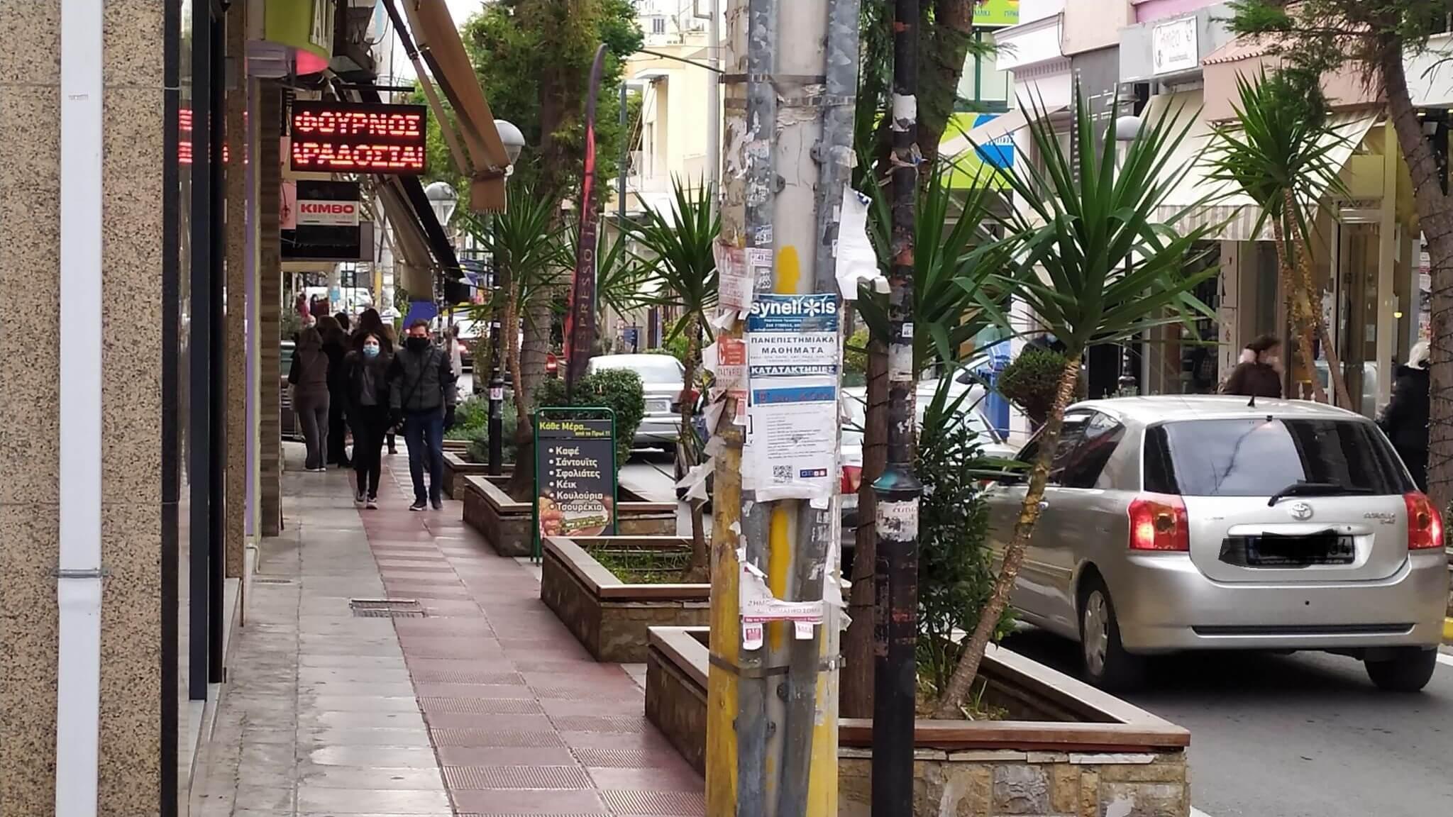 Κερατσίνι: Ανοικτά μαγαζιά, άφαντοι οι καταναλωτές